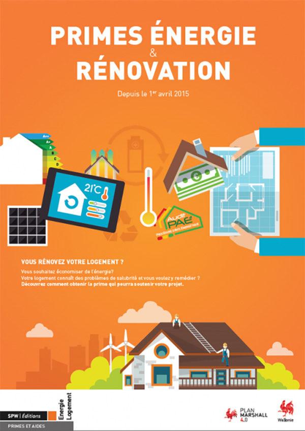 prime renovation maison region wallonne
